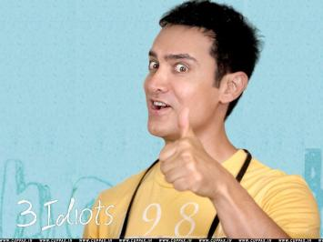 Rancho (3 Idiots), played by Aamir Khan